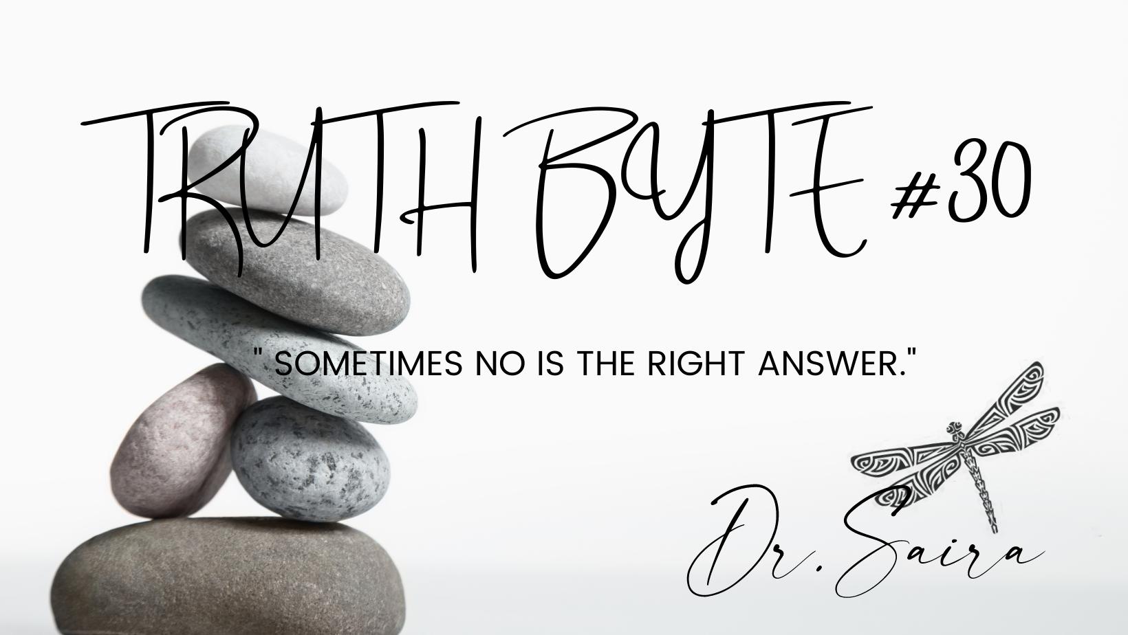 Truth Byte # 30